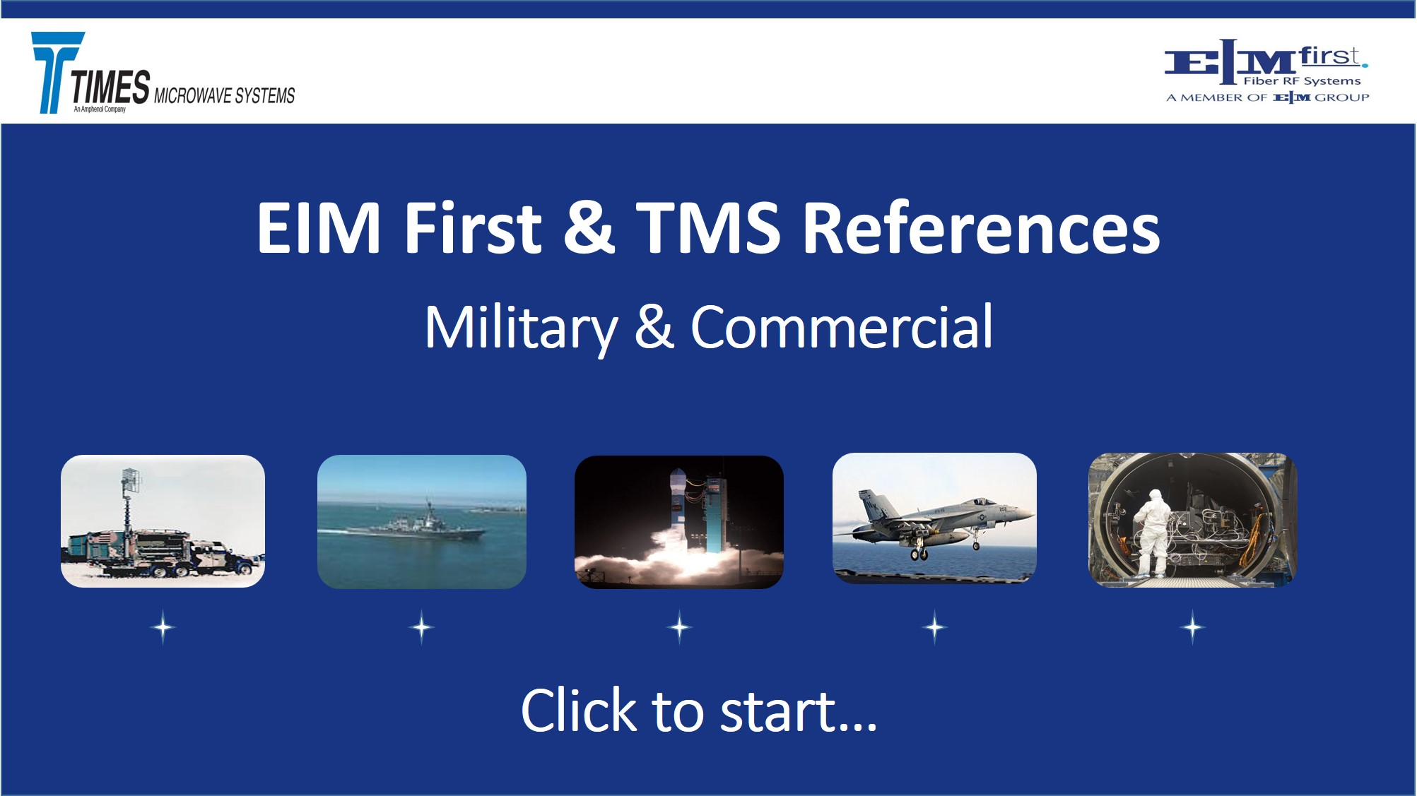 EIM First & TMS References