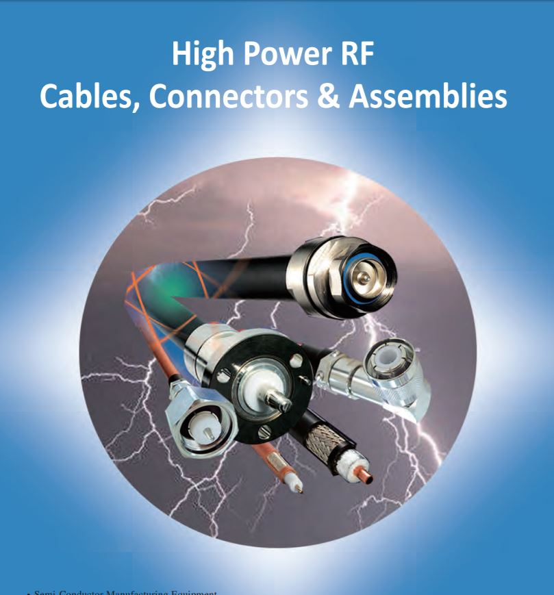 HIGH- POWER CABLE & ASSEMBLY PRODUCTS