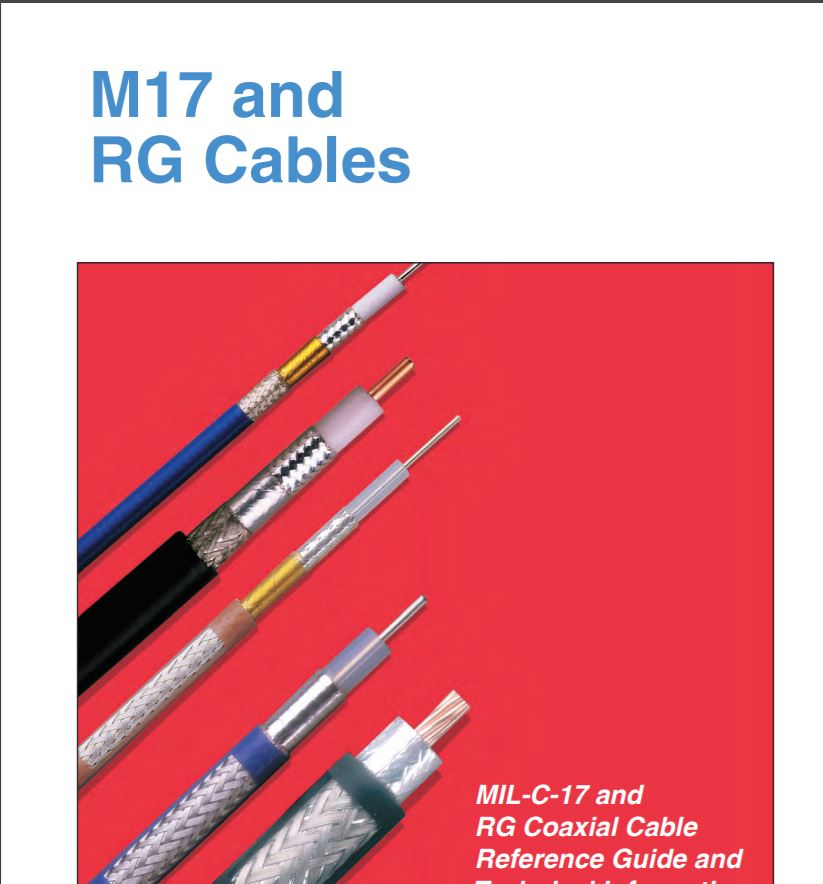 M17 & RG COAXIAL CABLE