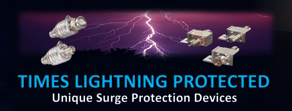 TIMES LIGHTNING PROTECTED