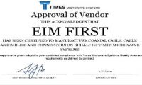 Times MicroWave Systems – Approval of Vendor (2)